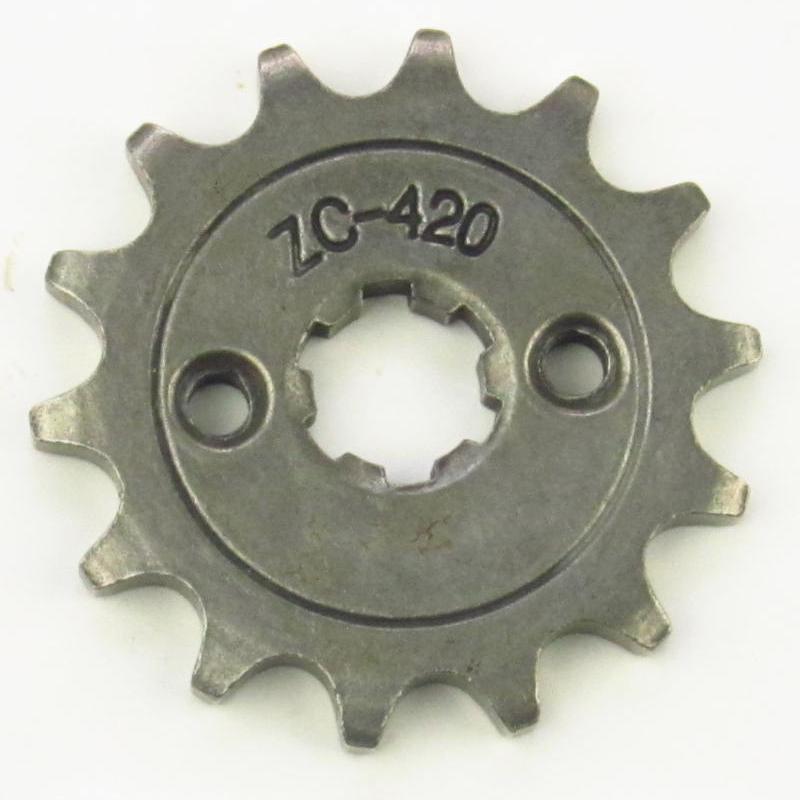 Front Engine Sprocket 420 16T 16 Teeth 50cc 70cc 90cc 110cc 125cc Taotao Peace