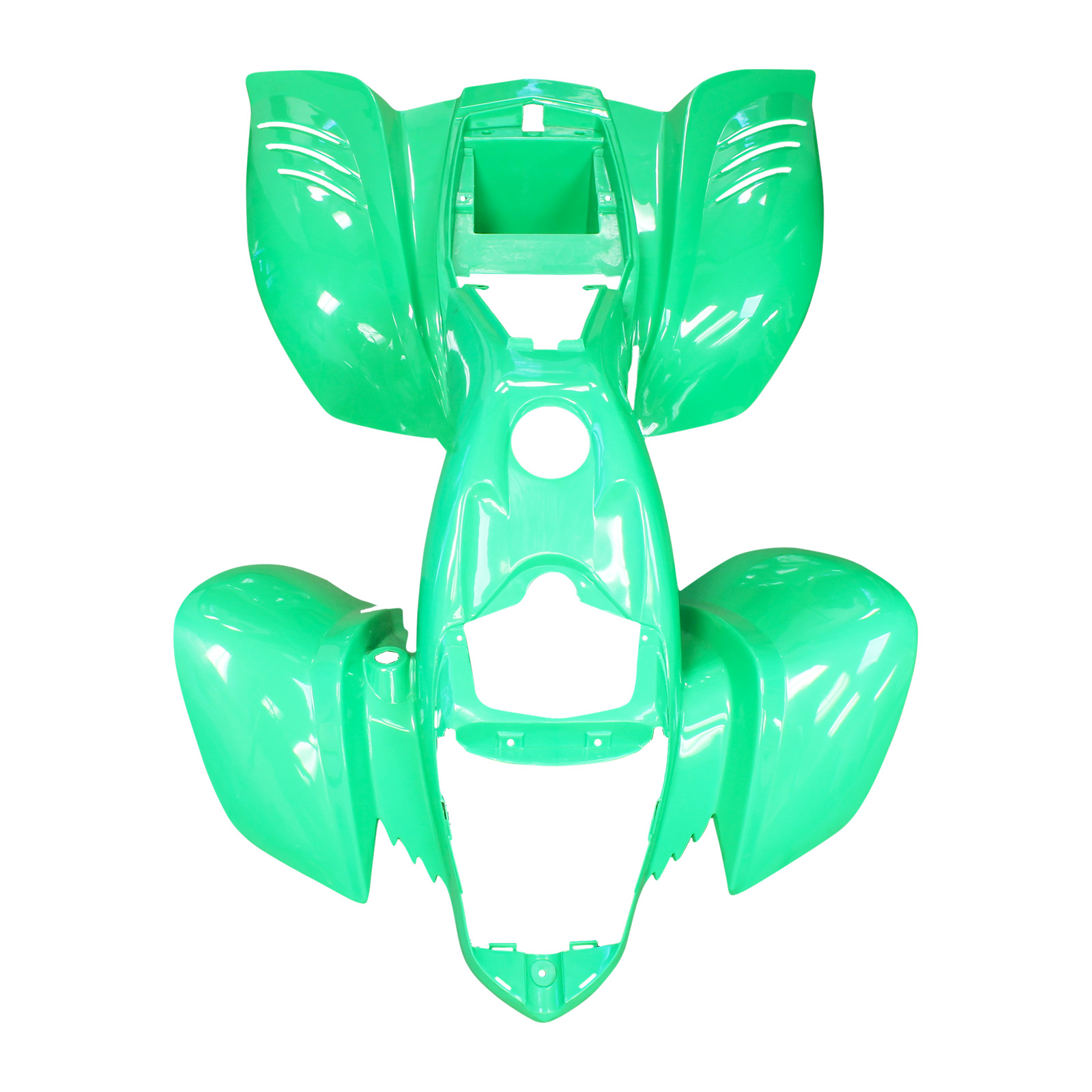 Front and Rear Fender Kazuma Falcon 110 150 250 ATV Redcat Body Plastic GREEN