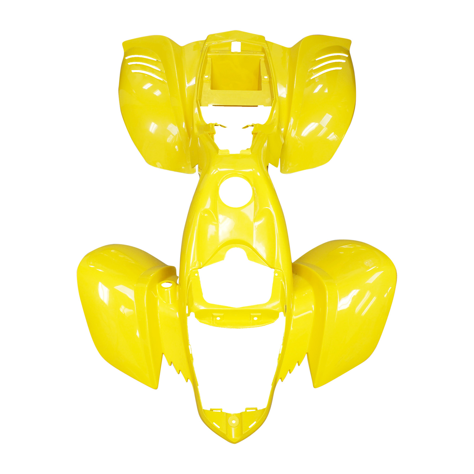 Front and Rear Fender Kazuma Falcon 110 150 250 ATV Redcat Body Plastic YELLOW