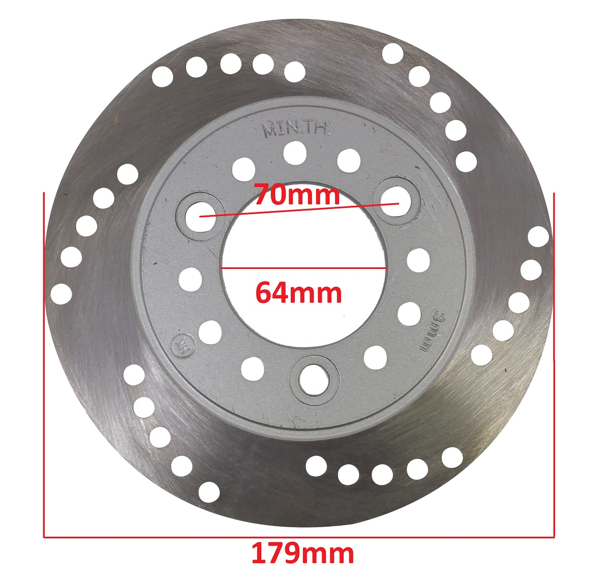 Rear Disc Brake Rotor for GY6 150cc 250cc Gas Moped Scooter Jonway Roketa M DR20