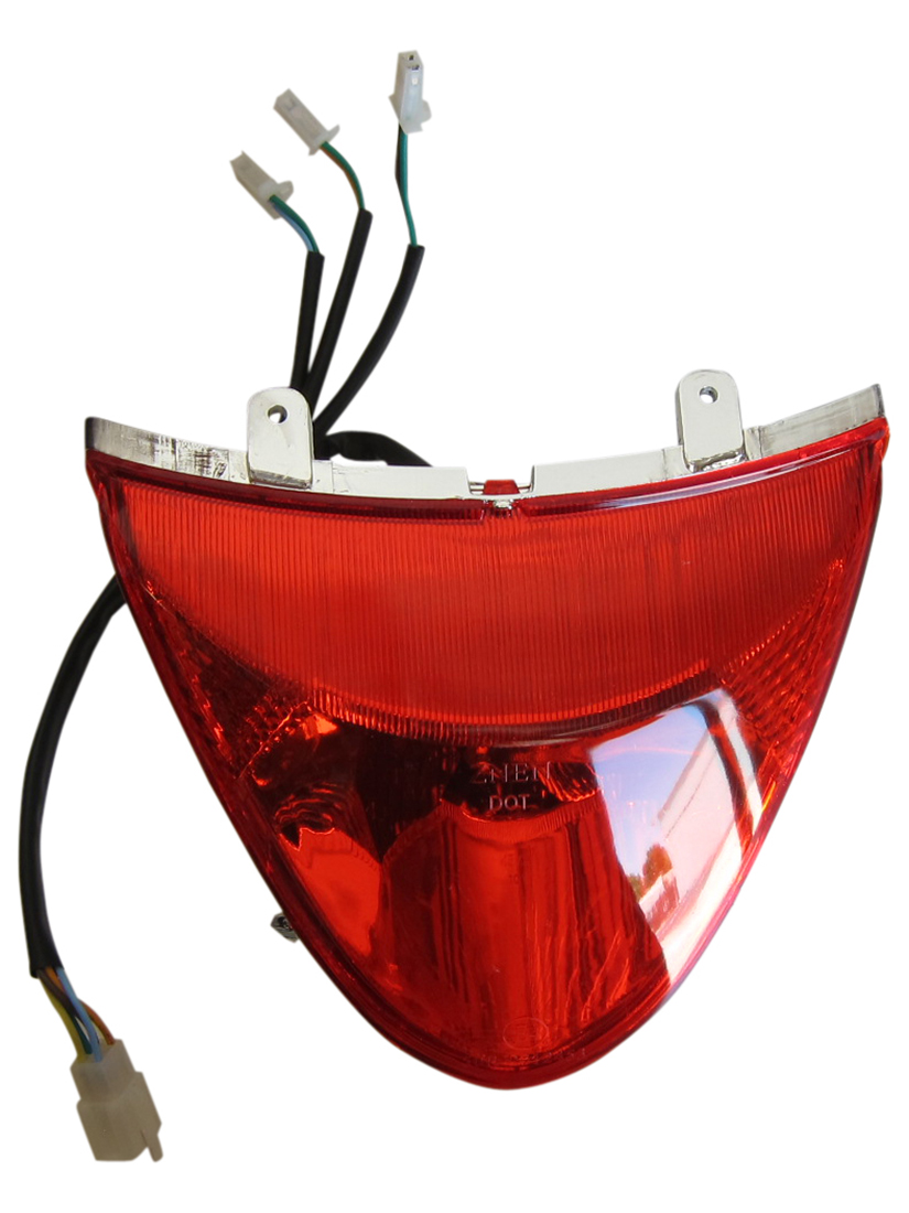 Znen 150T Rear Tail Light Assembly 49cc 150cc GY6 Scooter Moped Lance Milan