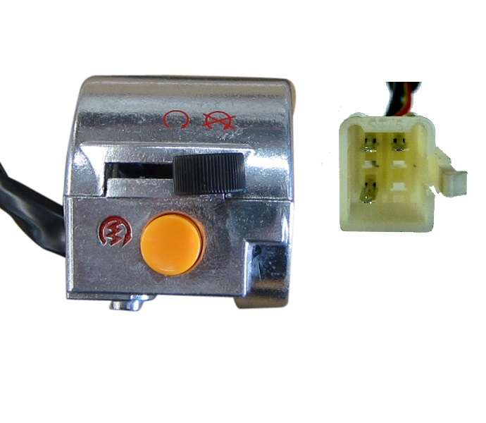 START KILL SWITCH 3-Wire Metal Right 50cc  Scooter Moped Motorcycle Dirt Pit Bike Chinese