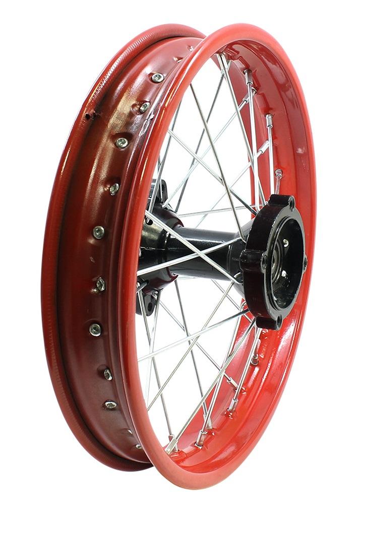 "Red Wheel Weiser Online Bookstore: 14"" Apollo Rear Rim Wheel Disc Brake"