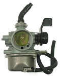 Carburetor, PZ19, Manual Choke Switch, 50cc-110cc Honda-Style 4-Stroke
