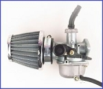 Carburetor with Air Filter 50CC 90CC 110CC ATV Go-Kart Carb Roketa SUNL Chinese