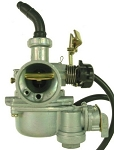 Carburetor w/fuel shut-off 50cc - 110cc