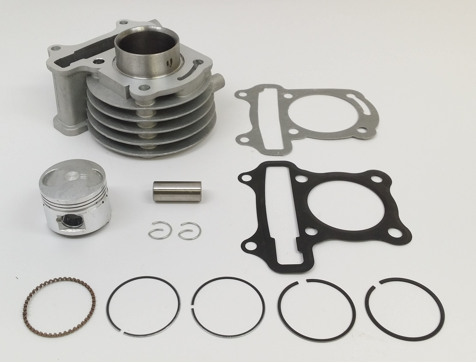 60cc Cylinder Kit 44mm GY6 Chinese Scooters Moped ATV 43mm Piston Rings Set