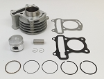 Cylinder and Piston Kit, 50cc GY6