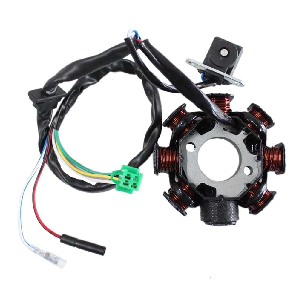 stator, 50cc scooter, 5-wire scooter stator coil wiring diagram #13