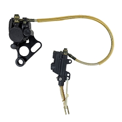 Rear Brake Assembly Master Cylinder Caliper for Chinese Dirt Bikes