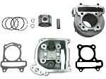 EGR -80cc Big Bore Head & Cylinder Kit, GY6 64mm