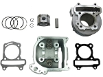 EGR -80cc Big Bore Head & Cylinder Kit, GY6 69mm