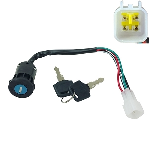 Key Ignition Switch for Apollo ATV Blazer 125cc