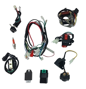Wiring Harness Complete Kit 50cc -110cc ATV - Version 52FM Auto
