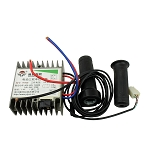 Controller, 24-60V 500-1000W Motor Brush for Electric Bike Bicycle & Scooter