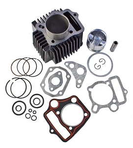 125cc Cylinder Kit Honda Style Horizontal Engine ATV Dirt Bike