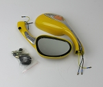 Mirror with Turn Signal light, Gator 150 -YELLOW
