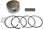 250cc Piston & Ring Set, 72mm