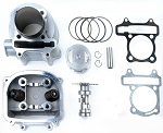 180cc Big Bore Head & Cylinder Kit,  Cam