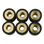 TWH Super 8 Performance Variator Roller Weights 18x14 GY6 150cc Grams 6