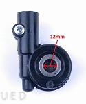 Speedometer Gear, 12mm axle