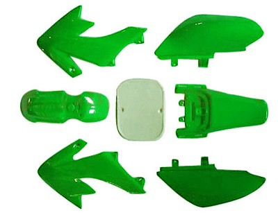 Body Plastic, CRF50, GREEN