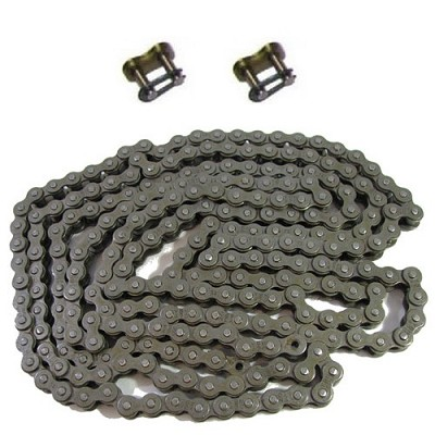 2 Master Links + 420 Roller Chain (5 feet)