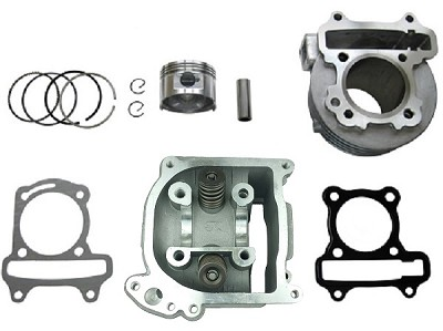 EGR -100cc Big Bore Head & Cylinder Kit, GY6 69mm