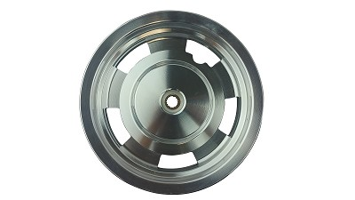 10 Inch Chrome Rear Rim 49 50cc TaoTao Peace New Gy6 Scooters Mopeds MT2.50xJ10