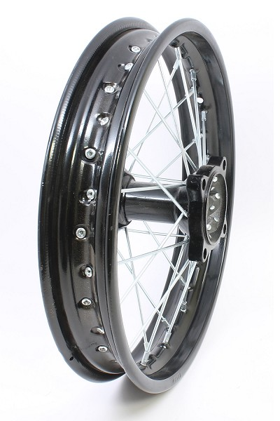 "BLACK - 14"" Apollo Rear Rim Wheel Disc Brake"