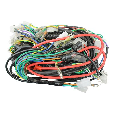 elct-0050_01 X Scooter Wiring Harness on scooter voltage regulator, scooter speedometer, scooter lights, scooter fuel pump, scooter gas tank, scooter water pump, scooter wheels, scooter air filter,