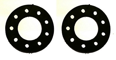 Rubber Pads for Spoke and Sprocket Assembly